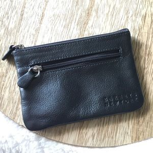 Barney's New York Black Coin Purse